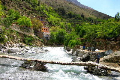 Marrakech to Ourika valley & Atlas mountains budget group day trip