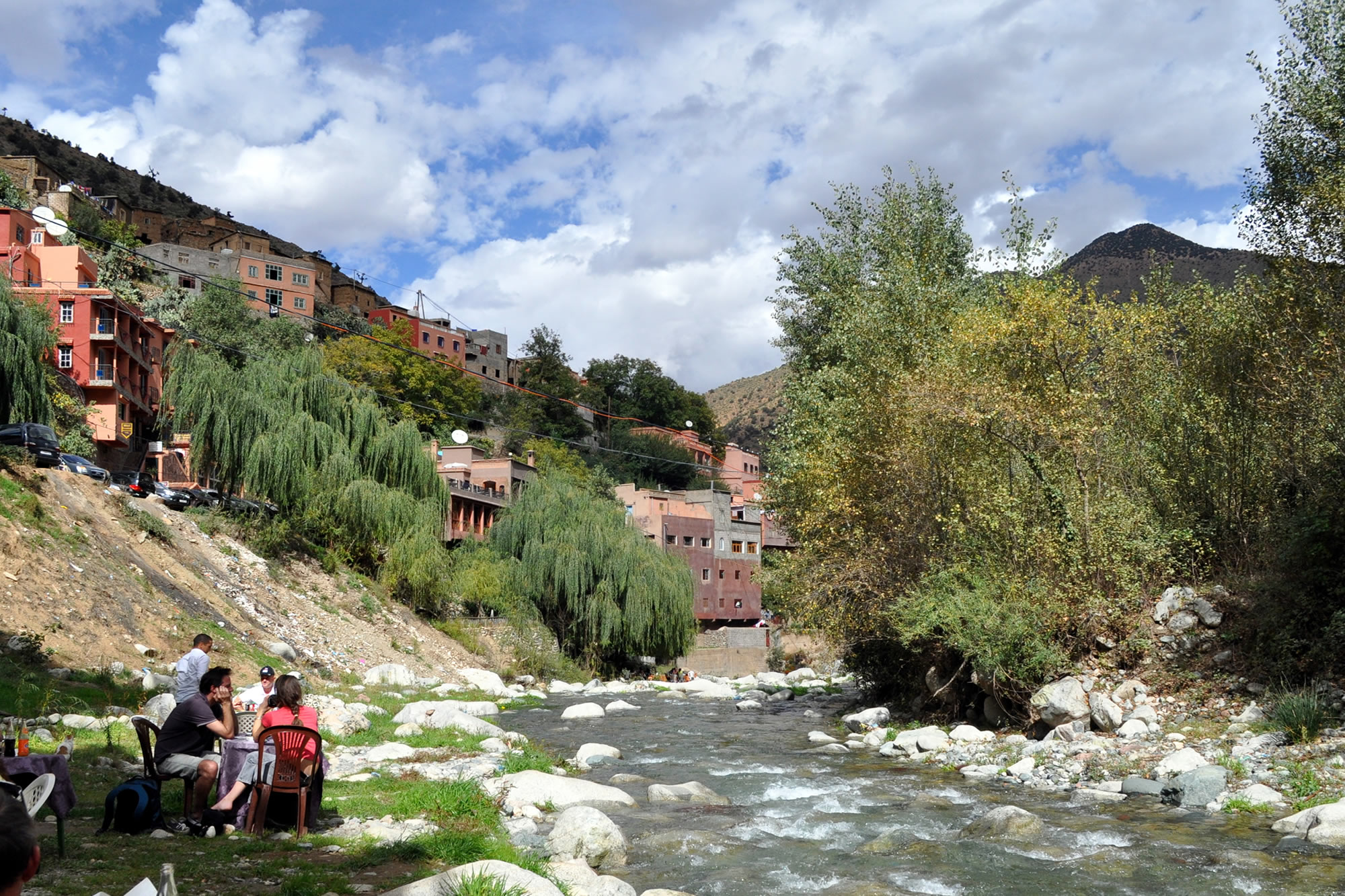 Marrakech to Ourika valley & Atlas mountains shared day trip