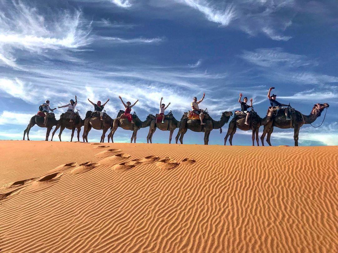 Marrakech to Merzouga Sahara Desert 3-Day budget group tours